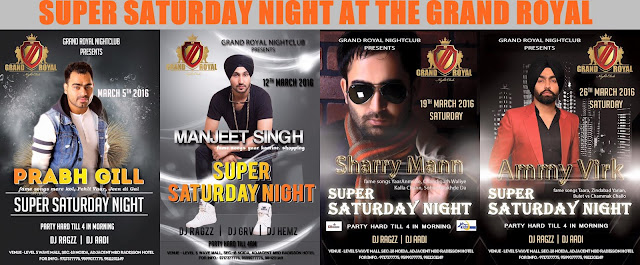 Noida Diary: Super Saturday Night at The Grand Royal Club, Noida