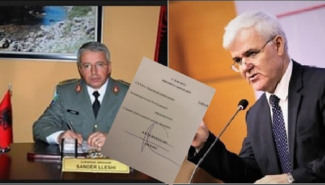 Interior Minister Fatmir Xhafaj resigns; General Sander Lleshi substitutes him