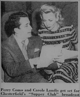 Carole Landis Perry Como