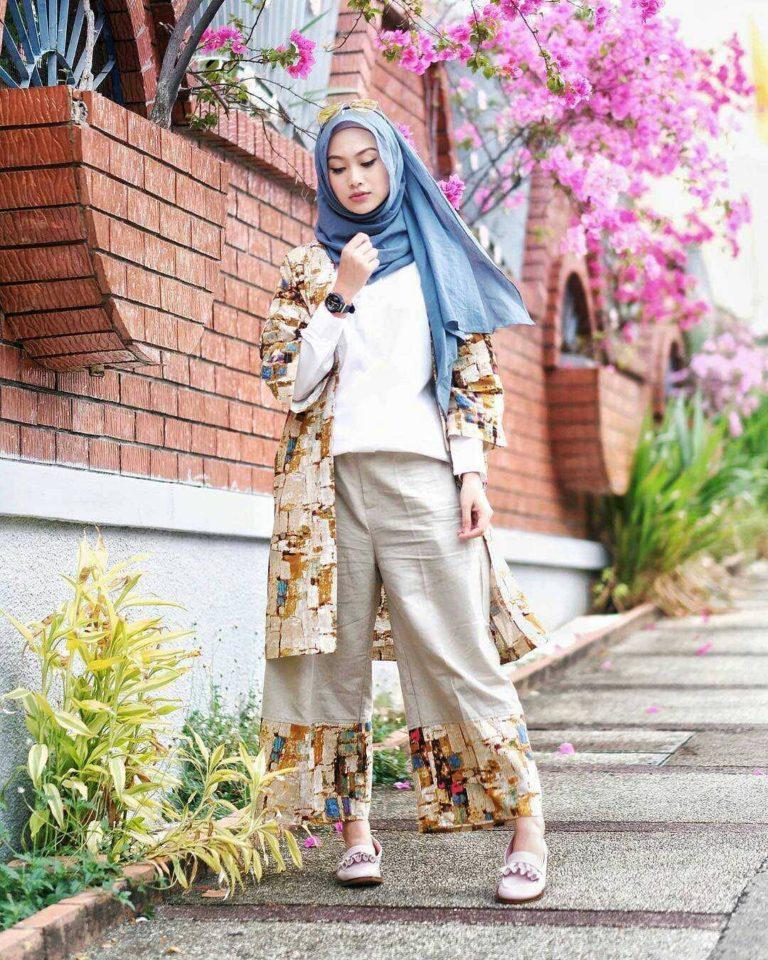 Fashion hijab remaja terbaru 2018 gaya masa kini teman Fashion dan style remaja