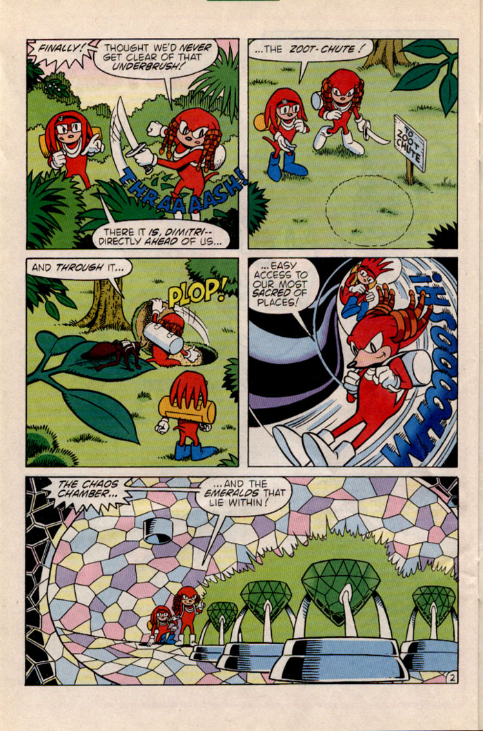 Read online Sonic The Hedgehog comic -  Issue #35 - 20