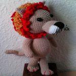 patron gratis leon amigurumi | free pattern amigurumi lion