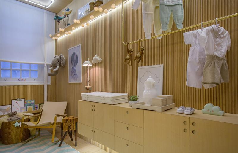 Um quarto de bebê com cores neutras, mas nada clichê!  Casa e Cozinha
