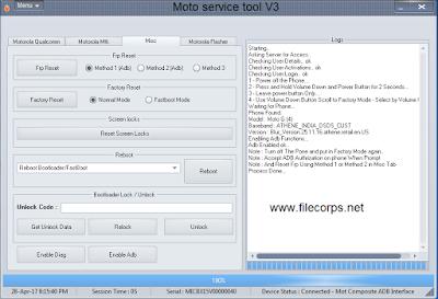 Moto-Service-Tool
