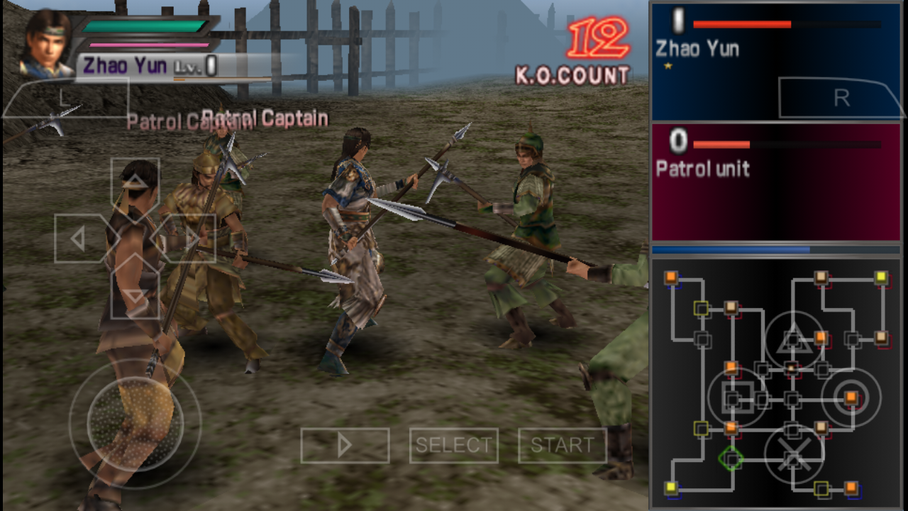 Dynasty Warriors PSP ISO Free Download PPSSPP Setting ...