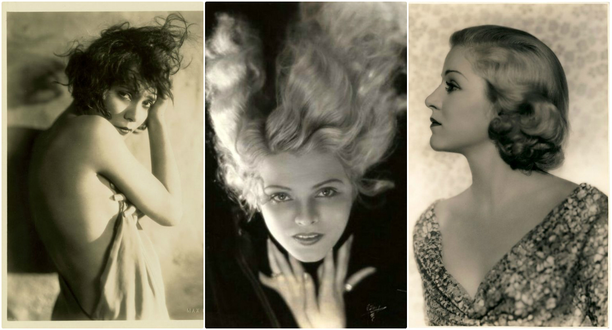 gorgeous portrait photos of silent movie stars taken by