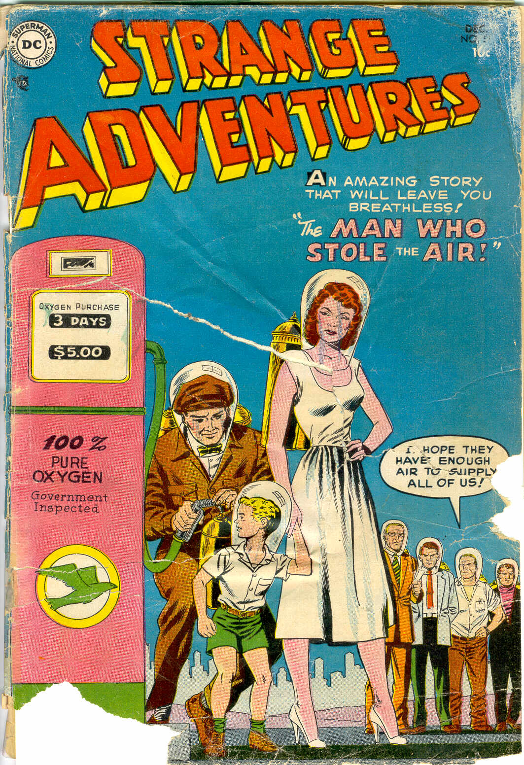 Strange Adventures (1950) issue 51 - Page 1