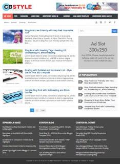 Perbedaan Template Blog Gratis dan Premium