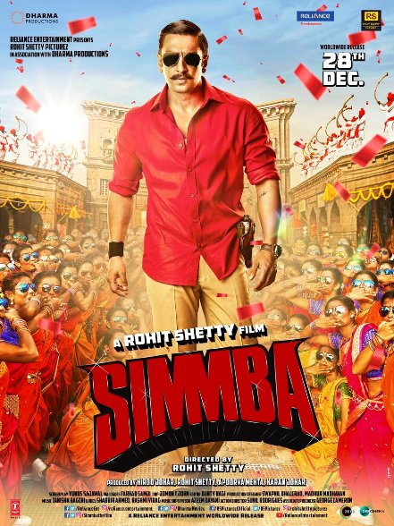 Ranveer Singh and Sara Ali Khan film Simmba Crosses 100 Crores in 5 Days, Becomes 13 Highest Grosser Of First Week in 2018. It is Also Rohit Shetty 8th films enter in bollywood 100 Crore club