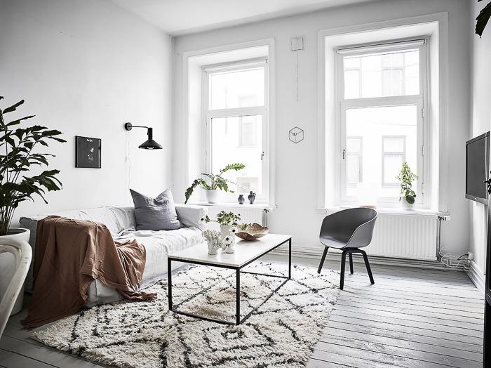 mini estudio nórdico cómo aprovechar el espacio