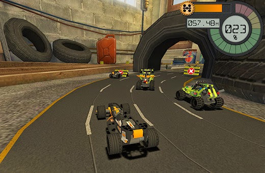 3D Games Blog: Fierce Competition in Technic Race Lego Game