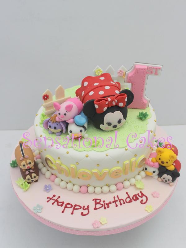 The Sensational Cakes Tsum Tsum 3d Cake Singapore