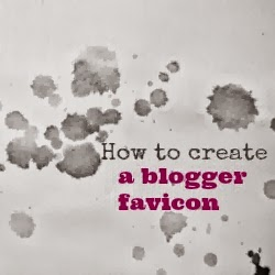 how to create a blogger favicon
