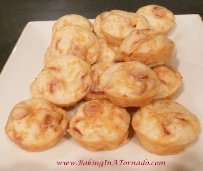 Pepperoni Puffs | www.BakingInATornado.com | #recipe