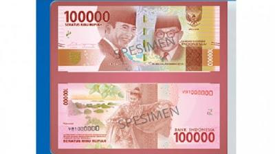 Uang Baru 100.000