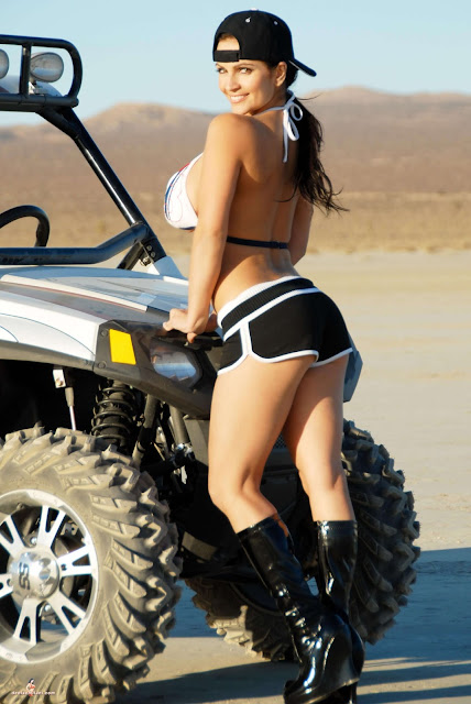 Denise Milani ATV hot and sexy Photoshoot picture 24