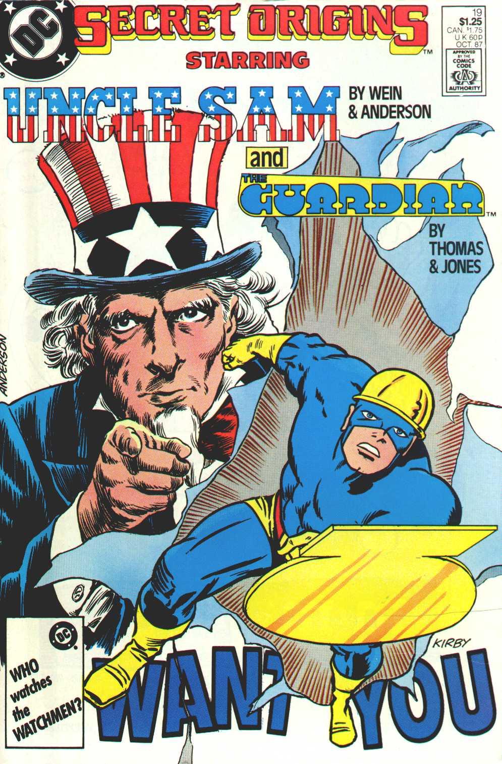 Read online Secret Origins (1986) comic -  Issue #19 - 1