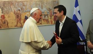 Ο Πάπας προτείνει τον Τσίπρα για Νόμπελ Ειρήνης