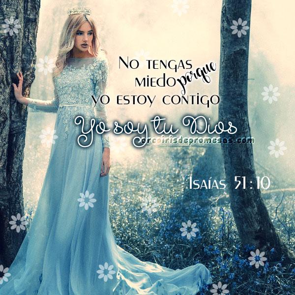 yo estoy contigo reflexiones cristianas con imágenes arcoiris de promesas