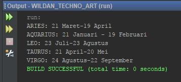 Contoh Penggunaan Enum pada Java
