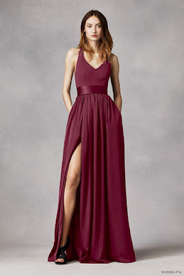 Más De 80 Vestidos De Color Vino Ideas Originales De Como