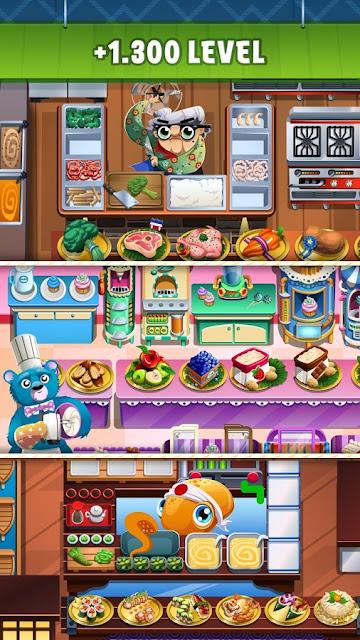 Screenshot Game Cooking Dash