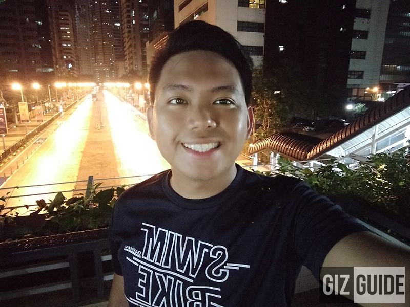 Lowlight selfie 2