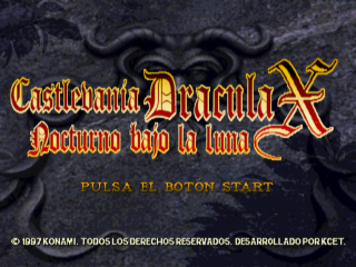 traduccion castlevania symphony of the night castellano