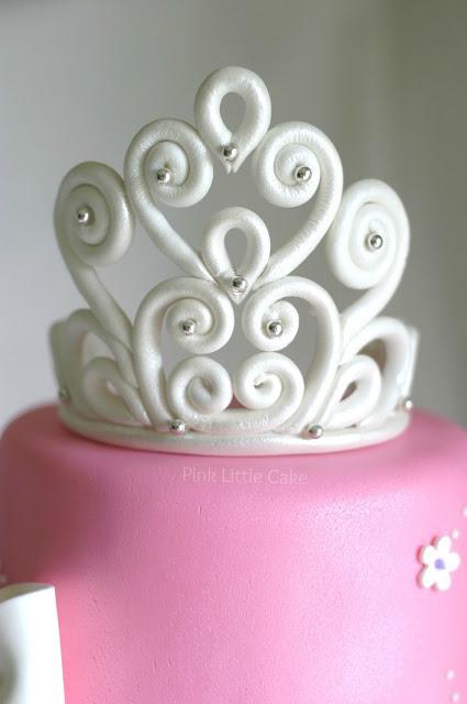 How To Make A Tiara For Princess Cake