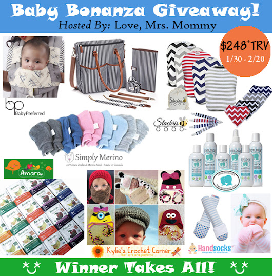 Baby Bonanza Giveaway - Winner Takes All! (Open to US, Ends 2/20)