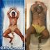 Hit or miss? Guy recreates Tupac's half naked bathtub pose