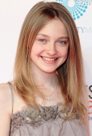 Anotherallergymom Dakota Fanning Blonde Hairstyle With