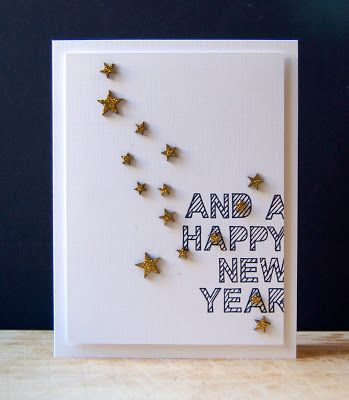 happy new year card making
