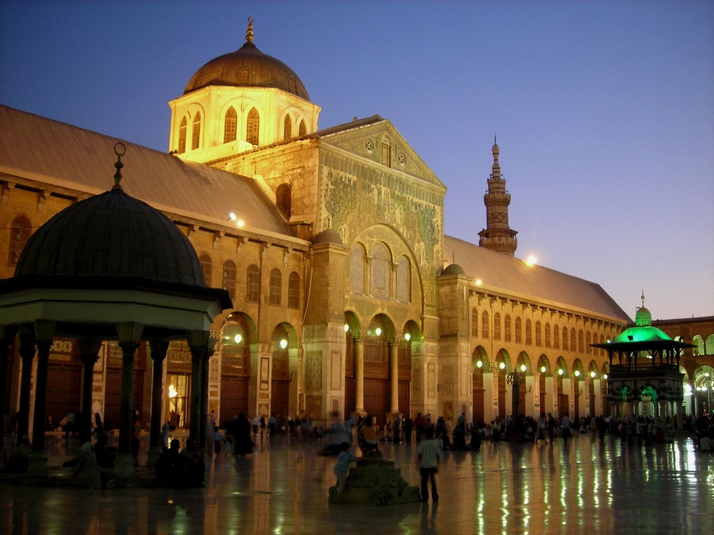 Mosque: 1001 Mosques: Umayyad Mosque, Damascus