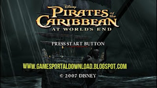 Pirates Of The Caribbean At Worlds End Highly Compressed ISO PPSSPP Game