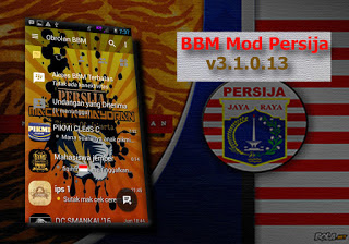 BBM MOD Persija APK v3.1.0.13 With Change Background