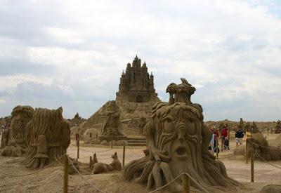 Castillo de arena Gigante