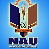ADMISSION INTO JUPEB FOR 2017/2018 ACADEMIC SESSION IN (NNAMDI AZIKIWE UNIVERSITY)