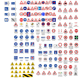 Gundam_Diorama_decals_road_sign