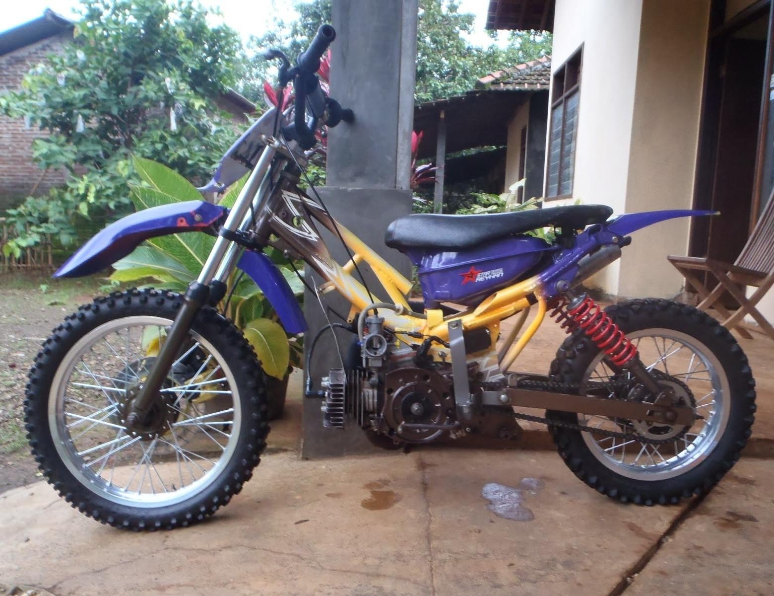 97 Modifikasi Motor Trail Odong Odong Terbaru Oneng Motomania
