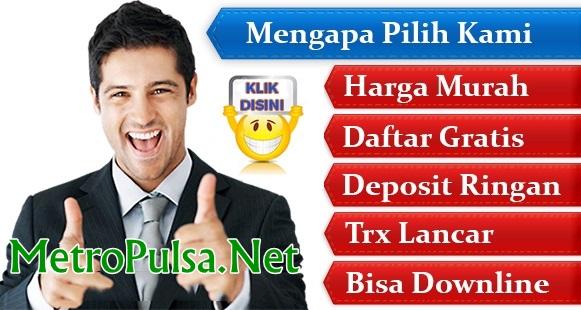 MetroPulsa.net Web Resmi Metro Reload Pulsa Wariyanto CV MMP Termurah