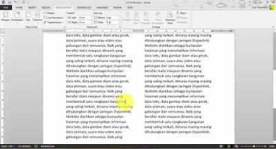 Tutorial Microsoft Word