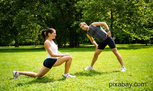 Warm up pemanasan sebelum running (lari)