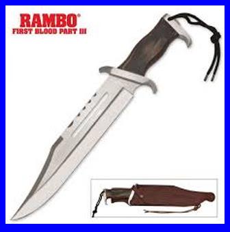 pisau Rambo asli
