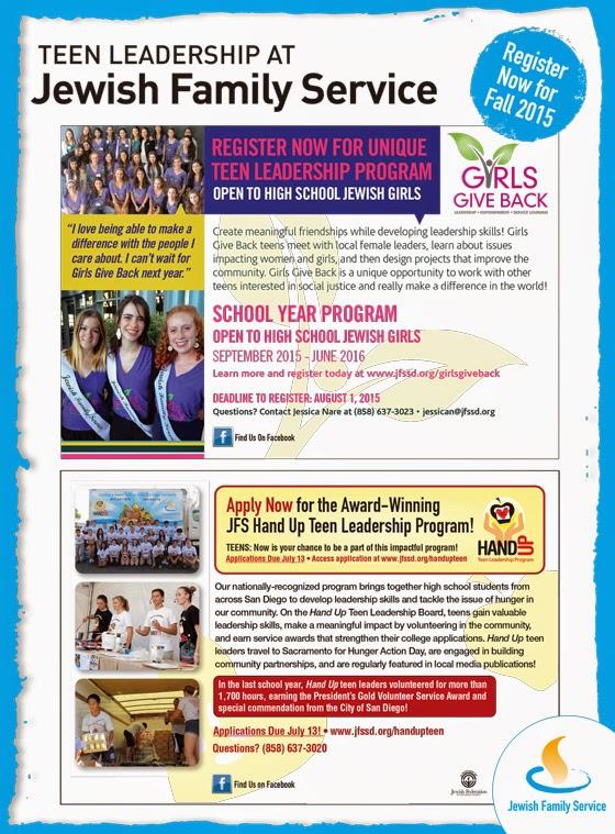 Teen Blog Event Calendar Programs 16
