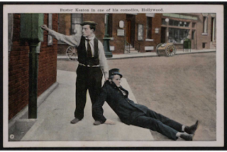 Scene from Buster Keaton film