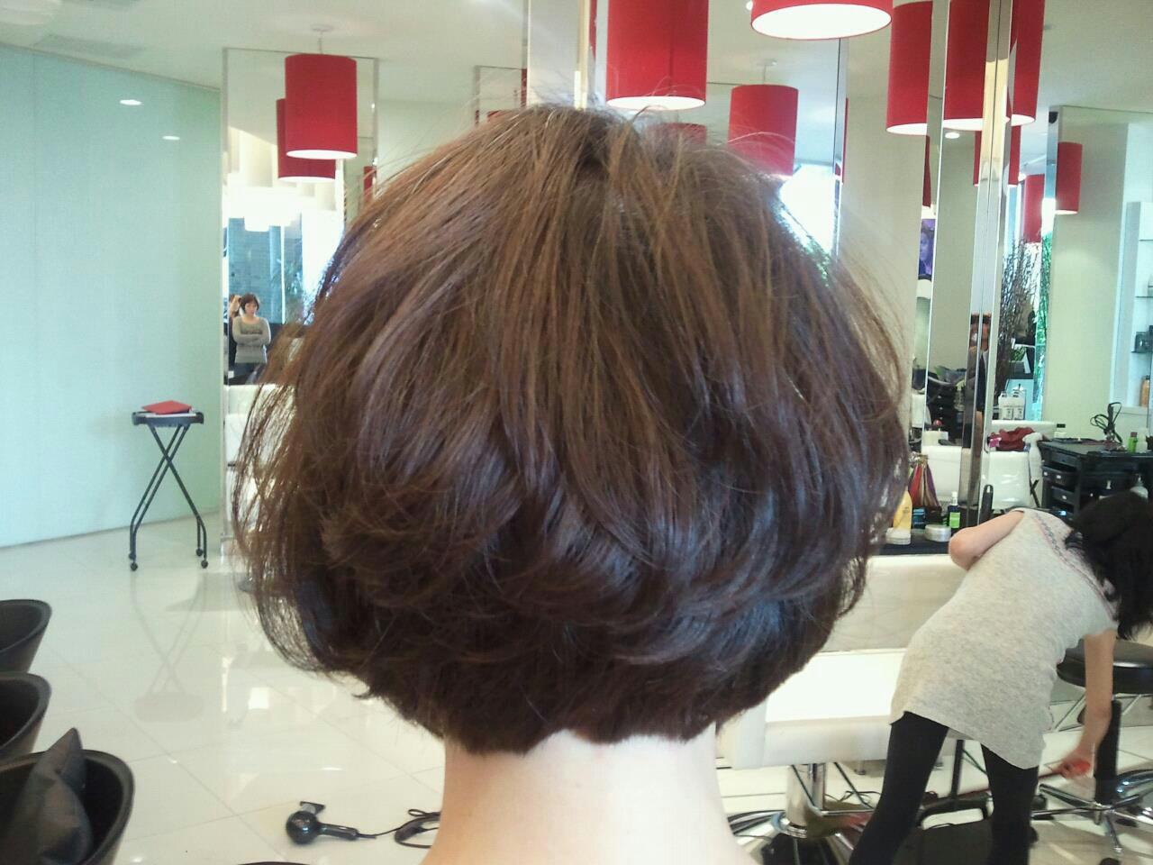 Cool What Is A Digital Perm Hair By Kriss Short Hairstyles Gunalazisus
