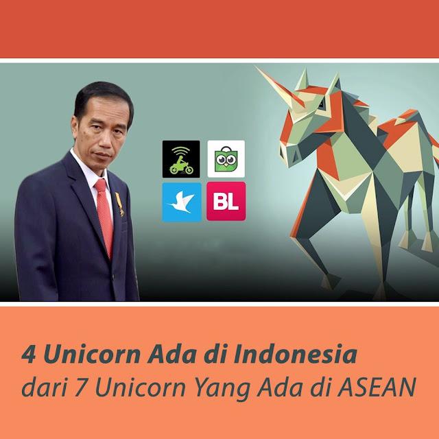 4 dari 7 Unicorn Yang Ada di ASEAN Ada di Indonesia!