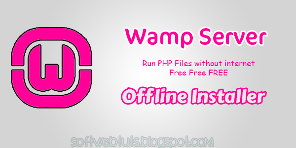 WampServer Offline Installer PC Software