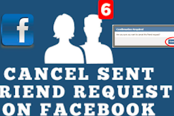 How to Cancel A Friend Request On Facebook 2019